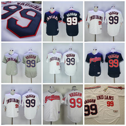 ... Stitched MLB Jersey Mens Cleveland Indians 99 Ricky Vaughn Jersey White  1993 Turn Back Red Pullover Flexbase 2017 World ... 4cbc5a65d