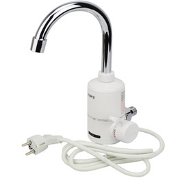 Water heaters tap online shopping - XMS02 Tankless Electric Water Heater Kitchen Instant Hot Water Tap Heater Electric Water Faucet Instantaneous Heater W