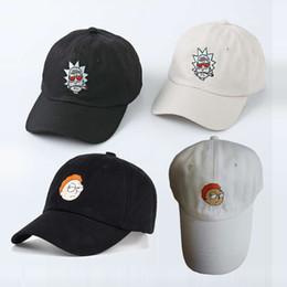 $enCountryForm.capitalKeyWord Canada - Rick and Morty Hats Rick Caps Dad Hat Adjustable High Quality Cotton Baseball hat Cap Snapback