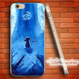 $enCountryForm.capitalKeyWord NZ - Coque Luxury Lion King Soft Clear TPU Case for iPhone 7 6 6S Plus 5S SE 5 5C 4S 4 Case Silicone Cover.