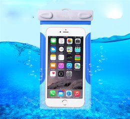 Iphone under water online shopping - Universal Waterproof Smart Phone Case Cover with Comb Under PVC Water Proof Dry Bag for Iphone