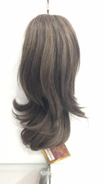 $enCountryForm.capitalKeyWord Australia - Wholesale- Hairpiece Humanhair Lady Wowen Wavy Claw Clip Ponytail Pony Tail Hair Extension hairpiece Free Shipping