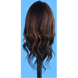 $enCountryForm.capitalKeyWord UK - Natural black 14 inch Training Head With Makeup 100% Human Hair Hairdressing training head mannequin for salon