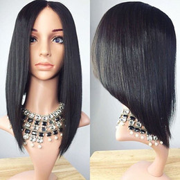 $enCountryForm.capitalKeyWord Canada - 8A Short Bob Wig Full Lace Wigs Glueless Human Hair Brazilian Short Bob Lace Front Wig Virgin Haircuts Bob Human Hair Wigs