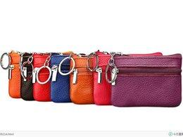 02d0d38eda3 Women Wallet Genuine Leather Coin Purse Travel Organizer 11 Colors Women  Storage Bag Key Holder Day Clutch Card Holders