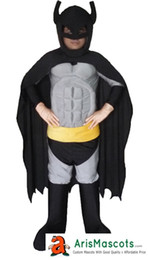Wholesale New Batman mascot costume Cartoon Mascot Costumes for Kids Birthday Party Deguisement Mascotte Custom Mascots at Arismascots Character Desig