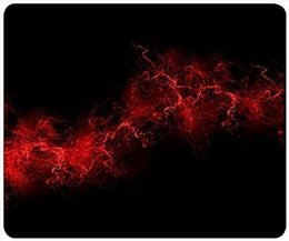$enCountryForm.capitalKeyWord NZ - Black Background Red Color Paint Explosion Burst Red Black Mouse Pad