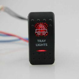 $enCountryForm.capitalKeyWord Australia - Guaranteed 100% IZTOSS Tray Light 12V SPST Rocker Switch Car Van Dash Boat Marine LED ON-OFF illuminated Free Shipping