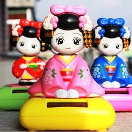$enCountryForm.capitalKeyWord Canada - Auto supplies solar fair young Japanese maiko geisha shook his head doll automotive boutique interior furnishing articles