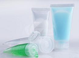 $enCountryForm.capitalKeyWord NZ - 15G 30G 50G 100G l PVC Hose packaging bottles small sample bottles Lotion cleanser paste packing bottle flip cap 100pcs lot