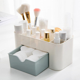 $enCountryForm.capitalKeyWord Canada - Multipurpose plastic makeup jewelry organizer storage box candy color office sundries cosmetic drawer container