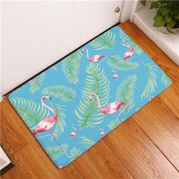 2017 New Home Decor Flamingo Carpets Non Slip Kitchen Rugs For Living Room Floor Mats 40X60 50X80cm