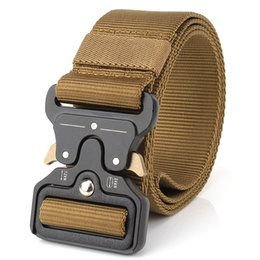 Male green jeans online shopping - 2017 Army Tactical Waist Belt Man Jeans Male Military Waist Casual Canvas Webbing Nylon Duty Strap Belt