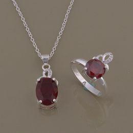 925 посеребренный костюм adicolo костюм мода бриллиантовое кольцо ожерелье katami Оптовая торговля на Распродаже