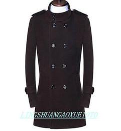Discount Mens Brown Dress Coats | 2017 Mens Brown Dress Coats on ...