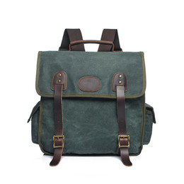 Men Ladies Plain Canvas Backpack Travel Satchel Schoolbag Large Capacity Laptop Bag USB Design Book Bags 2277