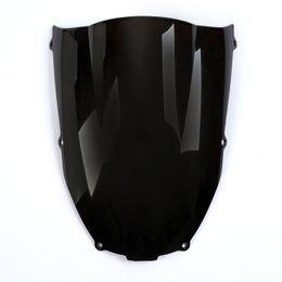 Discount zx6r windscreen - Black And Iridescent Windscreen Windshield for Kawasaki Ninja ZX6R 2000-2002