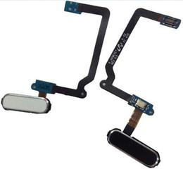 Original New Replacement Home Button Menu Key Fingerprint Sensor Flex Cable For Samsung Galaxy S5 i9600 G900A G900V G900F White Black Gold on Sale