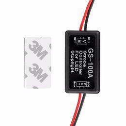 car strobe light controller 2018 - Universal GS-100A 12--24V Flash Strobe Controller Flasher Module for LED Flashing Back Rear Brake Stop Light Lamp Car Ac