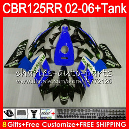 $enCountryForm.capitalKeyWord Australia - 23Colors Body +Tank For Repsol blue HONDA CBR125 R CBR 125R 125RR CBR125R 02 03 04 05 06 80NO53 CBR125RR 2002 2003 2004 2005 2006 Fairing