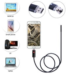 7mm 2 en 1 Android USB Endoscope Caméra Smart Android Téléphone OTG USB Endoscope Serpent Tube Inspection 6 PC LED