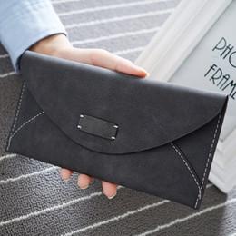 Großhandel-Hot fashion große kapazität frauen geldbörsen mädchen casual lange kupplung handy haspe brieftasche student retro kreditkarteninhaber geldbörse
