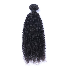KinKy curly can dyed online shopping - Brazilian Virgin Human Hair Afro Kinky Curly Unprocessed Remy Hair Weaves Double Wefts g Bundle bundle Can be Dyed Bleached