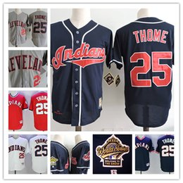 8222e1db4 ... Mens Cleveland Indians JIM THOME Throwback Cooperstown Jersey stitched  25 JIM THOME Indians Navy 1995 Cool