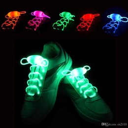 $enCountryForm.capitalKeyWord Australia - 20pcs(15 Pairs) Nice Led Light Luminous Shoelaces Glowing Shoe Laces Glow Stick Flashing Colored Neon Shoelace Chaussures Part Dance Led
