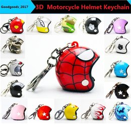 $enCountryForm.capitalKeyWord NZ - Hot Pocket 3D Racing Motorcycle Helmet Keychain Key Ring Gift Moto Accessories Collect Cool Sports Promotion Gift Keychain 25 designs M828
