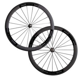 Cheap raCing biCyCles online shopping - 700C mm Carbon Clincher Tubular Road Bike Bicycle Wheels Super Light Carbon Wheels Racing Wheelset Cheap Wheel