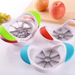 $enCountryForm.capitalKeyWord Australia - Apple Slicer Kitchen Gadgets Corer Slicer Easy Cutter Cut Fruit Knife Cutter for Apple Pear Fruit Cooking Tool Creative Dining Cook Diner