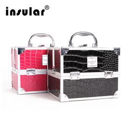 $enCountryForm.capitalKeyWord NZ - Wholesale Shipping Free Makeup Case Aluminum Makeup Bag Cosmetic Case