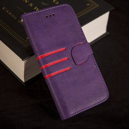 Coque Iphone Luxury NZ - Case For iPhone 6 6S   6S Plus Wallet Flip Style Luxury PU Leather Cover with Card Holders Coque for iPhone 7 Bag