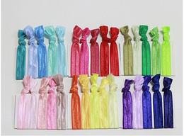 $enCountryForm.capitalKeyWord NZ - 2017 fold over elastic hair ties bracelet wristbands baby girl ponytail holder Hair Accessories baby girl headband bow free shipping