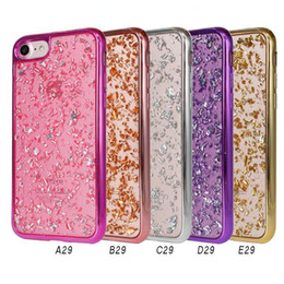 Apple iphone pictures online shopping - Electroplating Pictures And Drop Glue TPU Phone Cover For iphone x iphone plus For Samsung Galaxy Note S8 Plus D