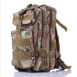 sports backpacks men NZ - Waterproof 3P Tactical Attack Backpack Men Women Outdoor Military Army Canvas Backpack Camping Hiking Trekking Sport Camouflage Backpack