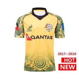 Australia wallabies rugby shirt 2017 2018 NRL Jersey Australian WALLABY rugby  Jerseys Commemorative Edition shirts s-3xl 5f32c444d
