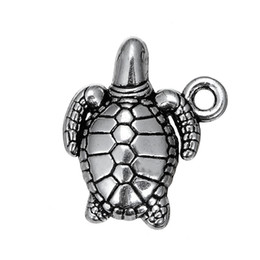 China Tibetan Antique Silver Plated Turtle & Whale Nautical & Dog Paw Print Animals Charms Zinc Alloy Pendant For Diy Jewelry Making supplier nautical jewelry pendant charms suppliers