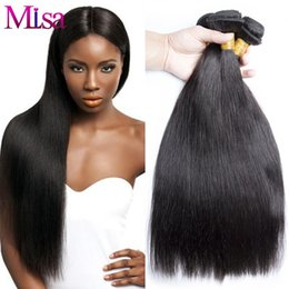 Discount affordable virgin hair extensions 2018 affordable natural brazilian virgin hair straight 3 bundles lot silky straight human hair extensions 10 30inch affordable brazilian virgin hair weaves cheap affordable pmusecretfo Images