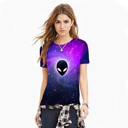 $enCountryForm.capitalKeyWord UK - 2017 New Fashion Alien Number Printing Suit-dress Jacket Leisure Time Motion Rendering Ventilation Lovers T-shirt For Women