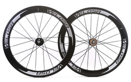 gear fix Australia - VELOSA! Free shipping 700C 60mm depth 25mm width clincher carbon wheels fixed gear track single speed wheelset with Novatec 165 166 hub