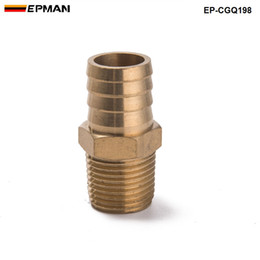 "China EPMAN-Brass Barb Fitting 1 2"" Npt Hose To 3 4 Hose Barb Water Air Fuel Connector Boat Coupler Pipe EP-CGQ198 suppliers"
