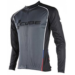 Chinese  New Cube Cycling Clothing Men Tour de france Cycling Jersey long sleeve jacket bike mtb maillot Ropa Ciclismo hombre Bicycle Clothes A1901 manufacturers