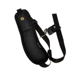 Shoulder Strap Belt For Dslr Camera NZ - Camera Shoulder bag Single Shoulder Sling Black Strap Belt Sling Sponge Pad For Canon for Nikon for Sony DSLR Camera TW-376