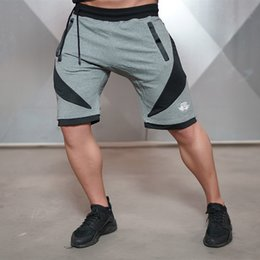 $enCountryForm.capitalKeyWord Canada - New Fashion Men Sporting Beaching Shorts Trousers Cotton Bodybuilding Sweatpants Fitness Short Jogger Casual Gyms Men Shorts