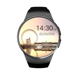 $enCountryForm.capitalKeyWord UK - KW18 Bluetooth smart watch full screen Support SIM TF Card Smartwatch Phone Heart Rate for IOS Android