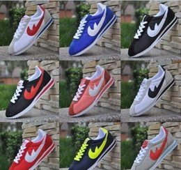 954612d9e25c 2017Hot new brands 10 colors Casual Shoes men and women cortez shoes  leisure Shells shoes Leather fashion outdoor Sneakers large size 36-48