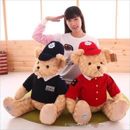 $enCountryForm.capitalKeyWord Canada - 2017 New Kawaii Teddy Bears Plush Soft Toys Pearl Velvet Teddy Dolls For Children Girlfriend Gifts Wedding Gifts