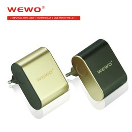 $enCountryForm.capitalKeyWord NZ - New Power Adapter Wall Charger WEWO Dual Port USB & Type-C EU Plug Quick Charging Output 5V2A for iPhone Huawei Samsung Galaxy HTC Phone